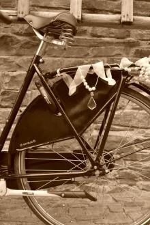 Rauf aufs Fahrrad..