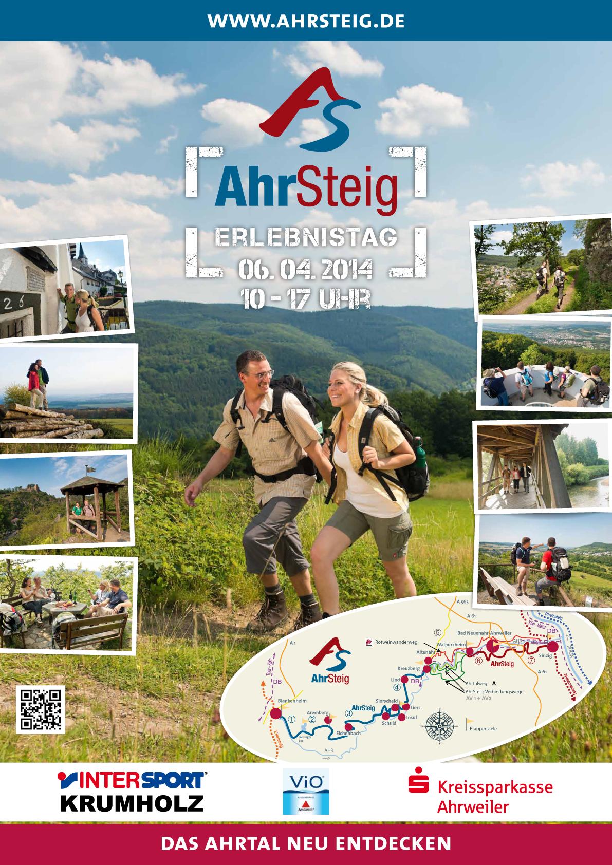 Ahrsteig- Erlebnistag- Wandern, Kaffeetrinken..ein schöner Tag