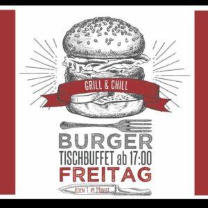 Burgertischbuffet