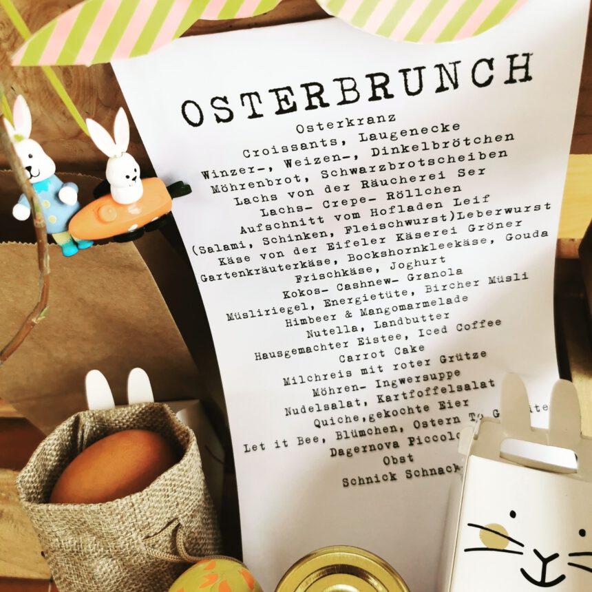 OSTERBRUNCH