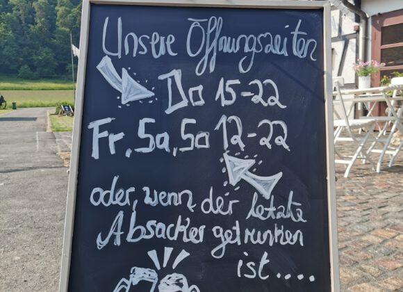 Wirgarten& Restaurant Öffnungszeiten